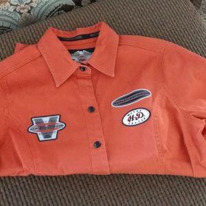 Harley Davidson Women's Button Down Shirt